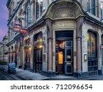 edinburgh  scotland   july 27 ... | Shutterstock . vector #712096654