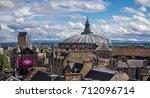 edinburgh  scotland   july 27 ... | Shutterstock . vector #712096714
