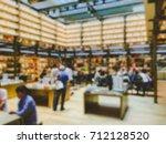 vintage style color tone . blur ... | Shutterstock . vector #712128520
