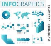 infographics design elements... | Shutterstock . vector #712210468