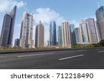 urban architecture and skyline  | Shutterstock . vector #712218490