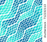 seamless abstract wave pattern... | Shutterstock .eps vector #712232113