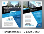 business brochure. flyer design.... | Shutterstock .eps vector #712252450