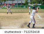baseball kids   Shutterstock . vector #712252618