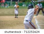 baseball kids   Shutterstock . vector #712252624