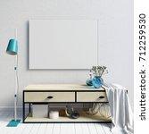 3d illustration of modern... | Shutterstock . vector #712259530