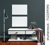 3d illustration of modern... | Shutterstock . vector #712259590