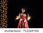 stock photo of indian little... | Shutterstock . vector #712269700