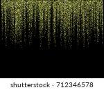 shining glitter garlands... | Shutterstock .eps vector #712346578