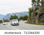 beautiful mountain landscape... | Shutterstock . vector #712366330