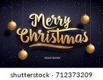 vector illustration of merry...   Shutterstock .eps vector #712373209
