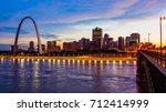 St Louis  Missouri Cityscape...