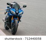 Motorcycle R6 Yamaha. Russia...
