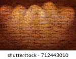 Vintage Brick Wall Background...
