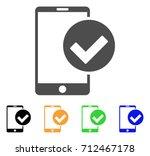 phone ok icon. vector...