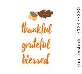 typographic vector quote... | Shutterstock .eps vector #712477330
