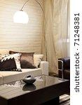 interior shot of a modern... | Shutterstock . vector #71248381