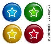 star multi color gradient...