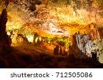 coves dels hams interior | Shutterstock . vector #712505086
