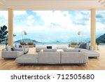 3d rendering   illustration of... | Shutterstock . vector #712505680