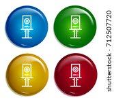 speaker multi color gradient...