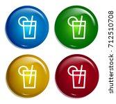 iced tea multi color gradient...
