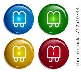 popsicle multi color gradient...