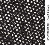 seamless primitive jumble... | Shutterstock .eps vector #712511128