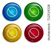 ball multi color gradient...