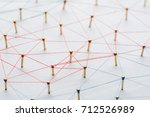 background. abstract concept of ... | Shutterstock . vector #712526989