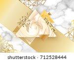 golden backgroung for brochure  ...