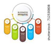 infographic elements templates | Shutterstock .eps vector #712530808