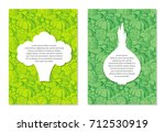 card design templates on... | Shutterstock .eps vector #712530919