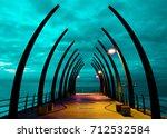 umhlanga whalebone pier | Shutterstock . vector #712532584