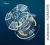 abstract vector circular...