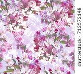 blossom repeat | Shutterstock . vector #712572148