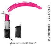 vector abstract illustration of ... | Shutterstock .eps vector #712577614