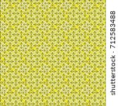 seamless mesh pattern with... | Shutterstock .eps vector #712583488