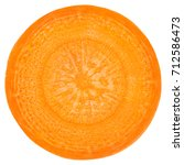 Carrot Slice  Clipping Path ...