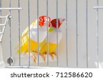 gouldian finch in the cage   Shutterstock . vector #712586620