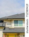 a perfect neighborhood. houses... | Shutterstock . vector #712589419