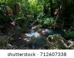 erawan waterfall  kanchanaburi  ... | Shutterstock . vector #712607338