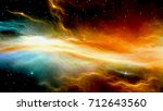 3d cg rendering of the outer... | Shutterstock . vector #712643560