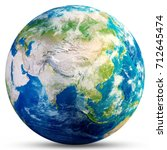 planet earth   asia. elements... | Shutterstock . vector #712645474