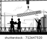 vector illustration of under... | Shutterstock .eps vector #712647520