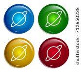 saturn multi color gradient...