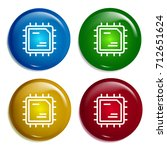 cpu multi color gradient glossy ...