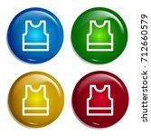 shirt multi color gradient...