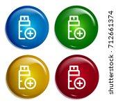 usb multi color gradient glossy ...