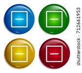 remove multi color gradient...